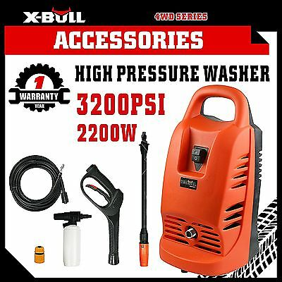 X-BULL 3200PSI High Pressure Water Cleaner Washer Electric Gurney Pump Hose