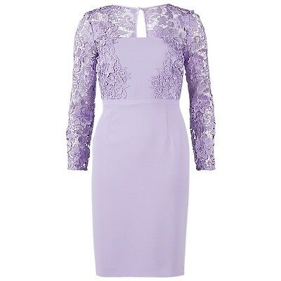 Gina bacconi lilac lace Mother of the Bride Formal Dress  Size 16-18 new