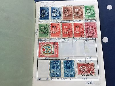 Hungary powerful approval club booklet with good early incl mint nice lot