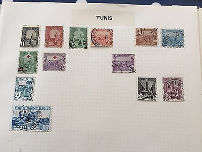 Tunisia, Algeria & Morocco stamp hoard from multiple estates on album pages
