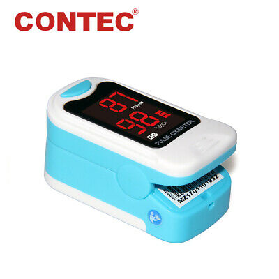 LED Fingertip SpO2 PR Monitor Finger Blood Oxygen Pulse Oximeter Oxymetre+ Pouch
