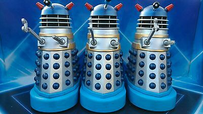 CUSTOM MOVIE  DALEK  SILVER & BLUE Dr. Who and the Daleks (1965)