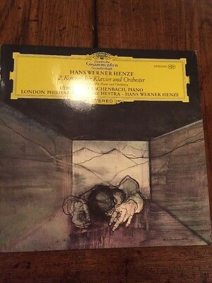 Henze 2nd Concert For Piano And Orchestra Deutsche Grammophon 2530 056 Lp NM