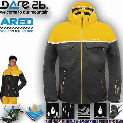 Dare2b Jacket Outrival Mens Ski Windproof Waterproof Breathable Hiking Outdoor