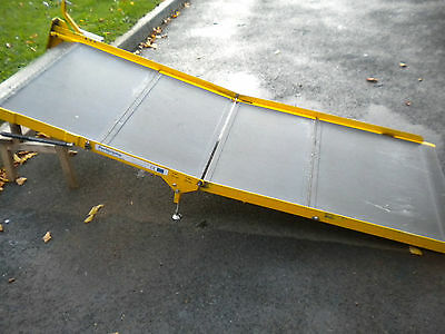 1258 Portaramp Disabled / Wheelchair Scooter ramp Used