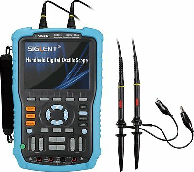 Siglent SHS806 60MHz, 2 Channel  Handheld DSO Oszilloskope 1GSa/s 2Mpts Speicher