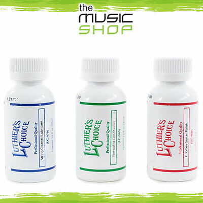Gibson Luthiers Choice Triple Pack- Guitar Cleaning Kit- Polish Lube Conditioner