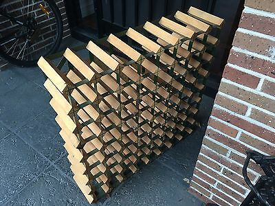 Wooden Wine Rack 72 Bottle Excellent Condition Free Pickup Deepdene