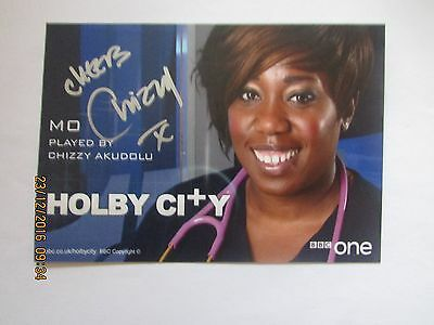 Chizzy Akudolu (Holby City) Signed Cast Card