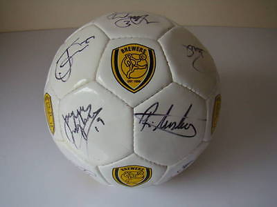 BREWERS - Signed Football