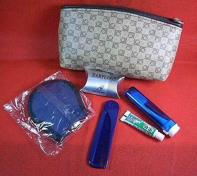 China Southern Airlines Travel Amenity Kit Bag with Accessery