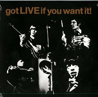 """THE ROLLING STONES Got Live If You Want It! Vinyl 7"""" RSD 2014 NEW & SEALED"""