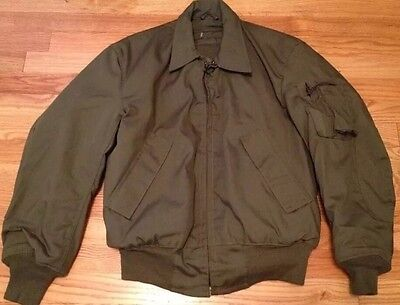 Vintage 1991's US USAF Military Cold Weather Bomber Flight Jacket. Sz. Small