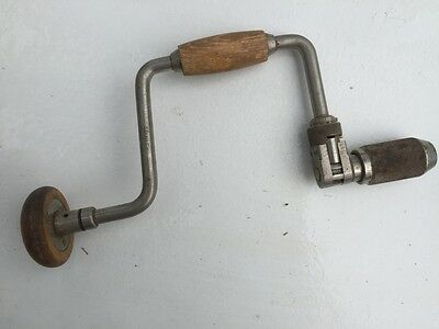 """collectable stanley 10"""" brace drill"""