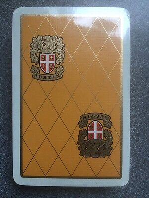 vintage AUSTIN MOTOR CAR playing cards by Waddingtons - cards SEALED - MINT