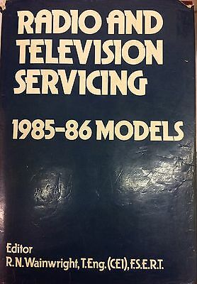 Radio And Television Servicing 1985-1986 See Photo For Makers