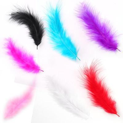 100PCS 4-6inch Beautiful Rooster Tail Feathers 10-15cm Wedding Craft Decoration