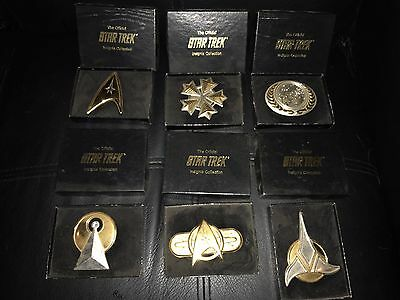 Star Trek Official Insignia Collection