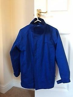 Mountainlite Blue Waterproof Coat Age 9-10
