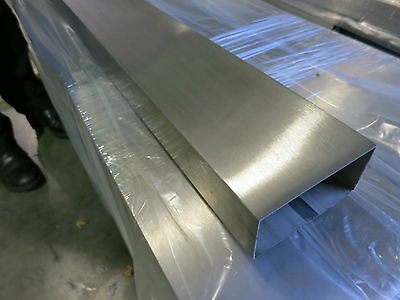 Stainless Steel Hollow Section - Square And Rectangular Tube Dull Polished 304