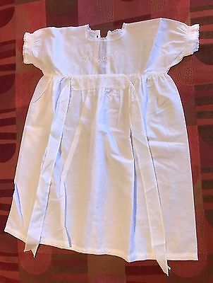 Vintage 50's Baby Night Dress - 3 To 6 Months, 100% Cotton, Purchased