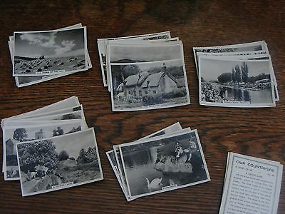Senior Service Large Cigarette Cards Our Countryside Part Set 30 Of 48