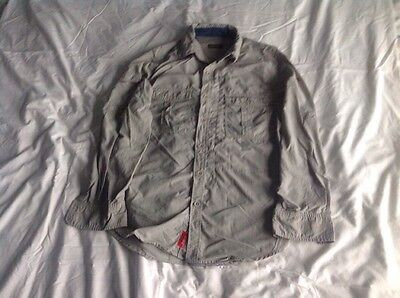 Men's Craghoppers Nosilife Shirt Size Small Beige