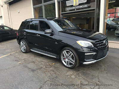2014 Mercedes-Benz M-Class ML63 AMG Night View   Pano Roof   AMG Performance Pkg.  Driver Assist   21' Wheels
