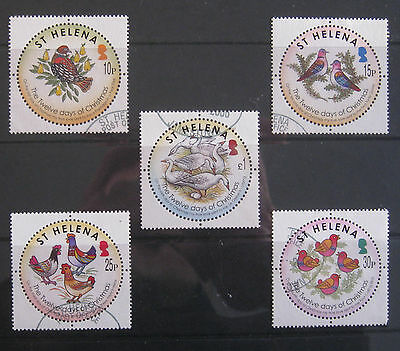 ST HELENA Bird Stamps. 2006 selection to £1. Used