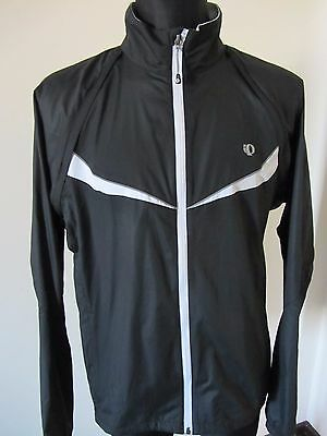 PEARL IZUMI Cycling Bike LIGHT Jacket Coat Top XLARGE *removable sleeves*