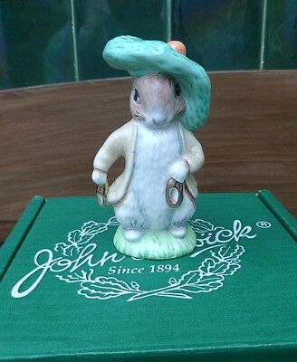 Beswick Figurine BENJAMIN BUNNY Special Gold Edition 1997
