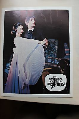 The Abominable Dr. Phibes - Vincent Price - Lobby Card #5