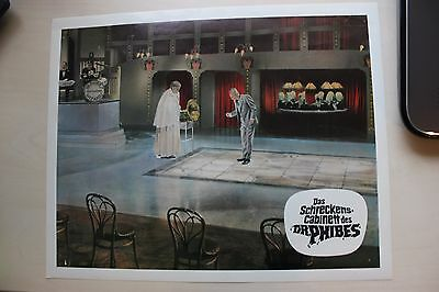 The Abominable Dr. Phibes - Vincent Price - Lobby Card #6
