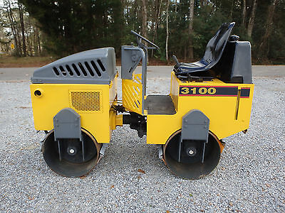 "Stone 3100   36"" double drum smooth vibratory  roller, Honda , wacker, cat,"
