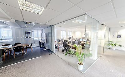 Office Glass Partitions professionaly installed