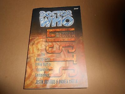 The Dr Doctor Who Book of Lists Paperback Ex-library Book