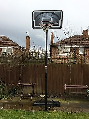 Basketball Hoop, Back Board And Stand. LIFETIME brand. Full Size.