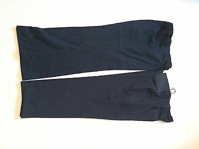 Two Pairs Of Maternity Underbump Trousers Size 16