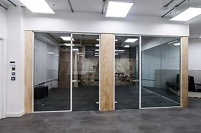 Office Glass Partitions installed