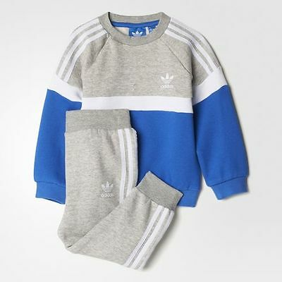 Infant's ADIDAS ORIGINALS Trefoil Tracksuit