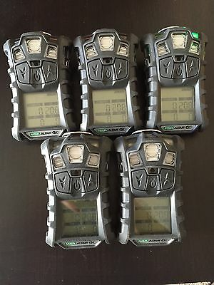 MSA altair 4X multi gas Monitor Meter detector, O2,H2S,CO,LEL + Charger