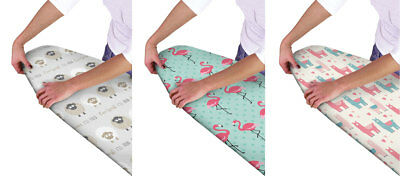 Multi- Fit Elasticated Ironing Board Covers 3 Designs Available