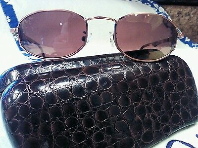 """Maui jim""""MONARCH""""156-18 COPPER/BRONZE, NEW DISPLAY WITH CASE, VERY RARE FIND!"""