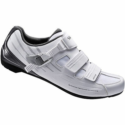 Shimano RP3 SPD-SL Clip-In Road Bike Shoes - White - HALF PRICE !!