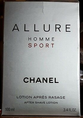 Allure Homme Sport Chanel for men AFTER SHAVE LOCTION.LOCTION APRES RASAGE 100ml
