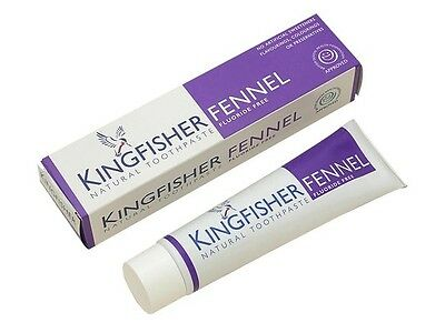 Kingfisher 100 ml Flouride Free Fennel Toothpaste