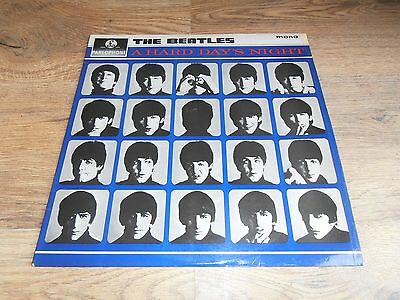 The Beatles - A Hard Days Night Lp - First Pressing - Mono Pmc 1230