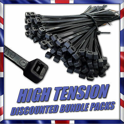 Very Strong Durable Cable Tie Wraps Zip Ties Various Sizes Nylon Top Quality