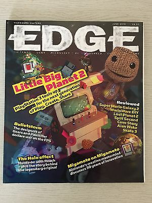 Edge Games Magazine No 215 June 2010 Wii Super Mario Galaxy 2 Review Miyamoto U