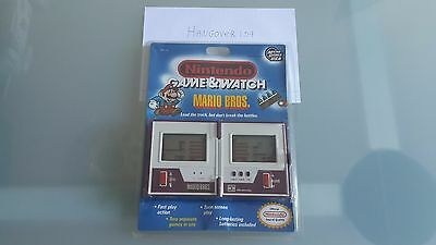 Game & Watch Mario Bros NEW IN BLISTER never opened (OLD STOCK) USA 1989/1990